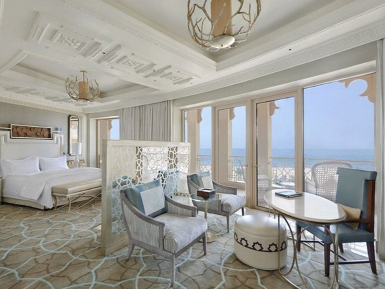 King Imperial Suite with Sea View And Balcony / Waldorf Astoria Ras Al Khaimah