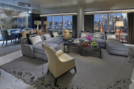 mandarin oriental new york suite