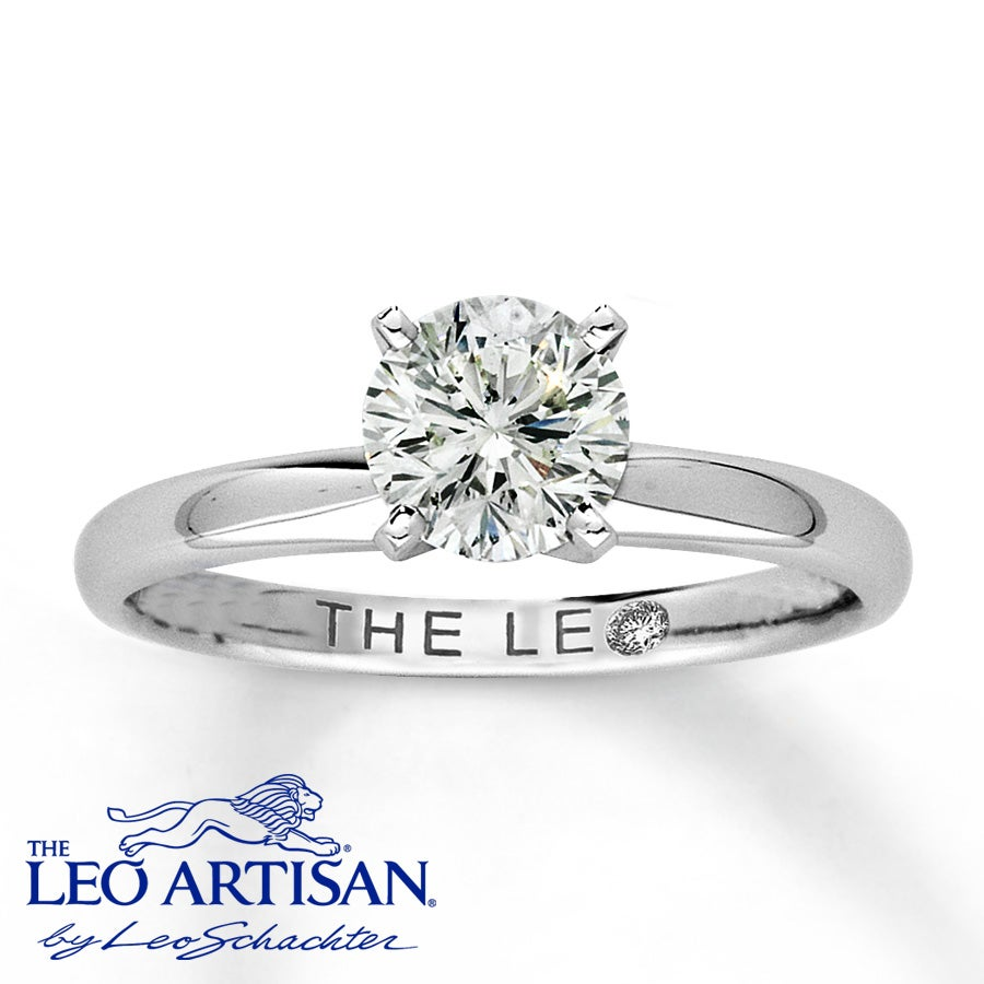 Leo engagement rings designs , A diamond triple crown