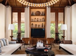 Living Room / Amanyara Villa