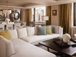 Living Room / Presidential Suite; JW Marriott Essex House New York