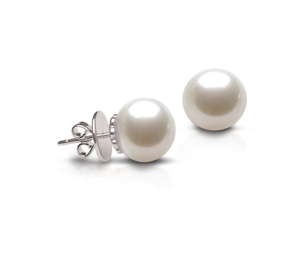 ear white pearl gold natural tcw stud img halo south with new earrings sea diamond arrivals buy