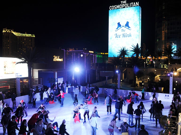 Winter Wonderland at The Cosmopolitan of Las Vegas | Elite ...