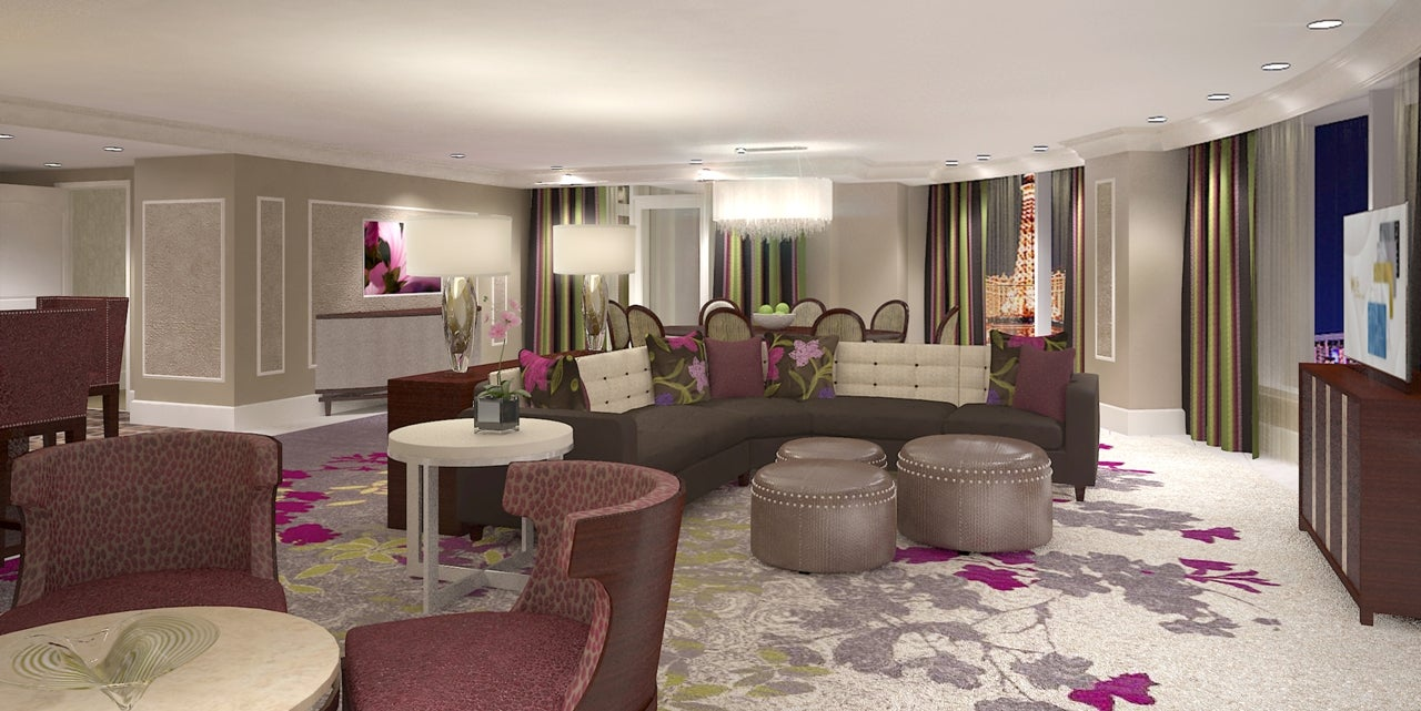 Bellagio Begins Redesign Of Suites In Resort S Main Tower