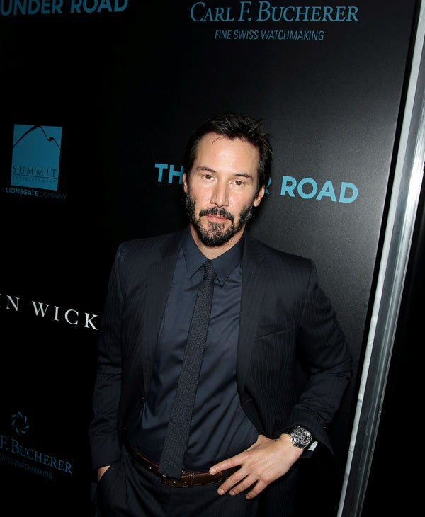 carl f bucherer officially partners with john wick movie premiere