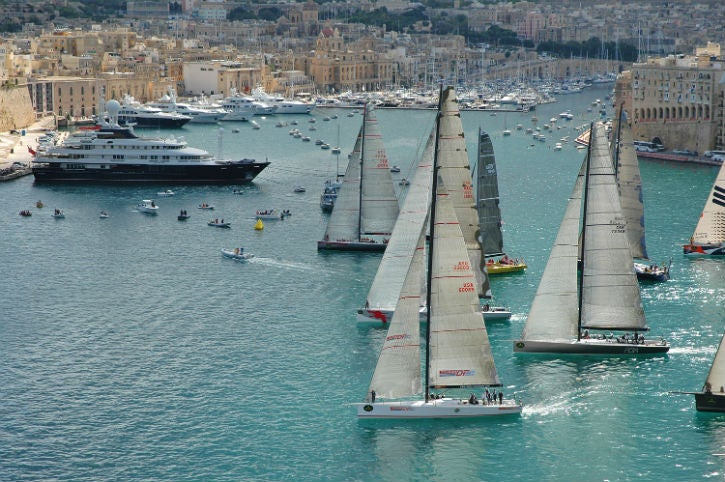 Grand-Harbour-Marina-situated-in-the-beautiful-Mediterranean-yacht-charter-location-Malta