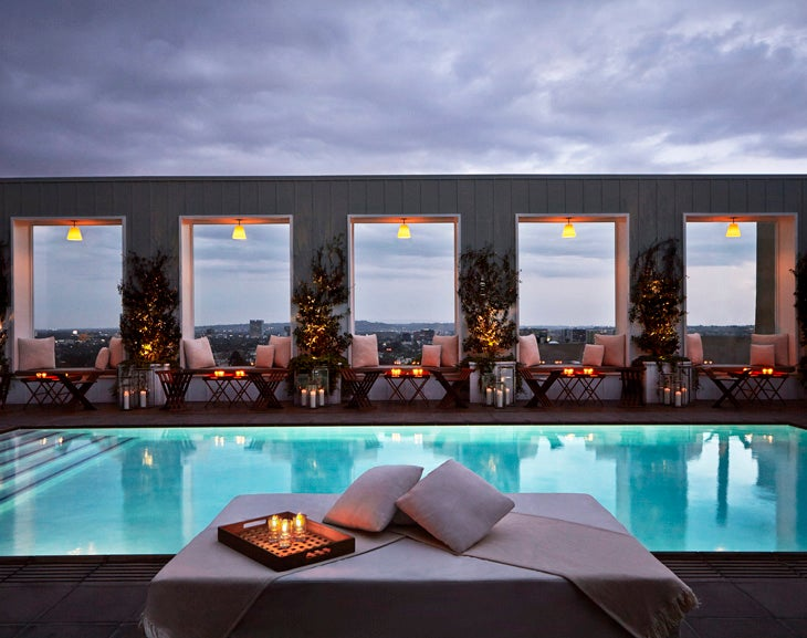 Skybar, Mondrian Los Angeles
