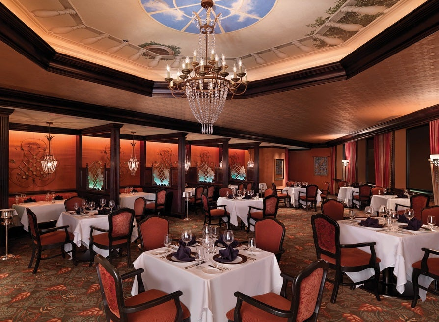 Located Near Disney This Aaa Four Diamond Rated Restaurant Serves Contemporary Cuisine In A Upscale Setting