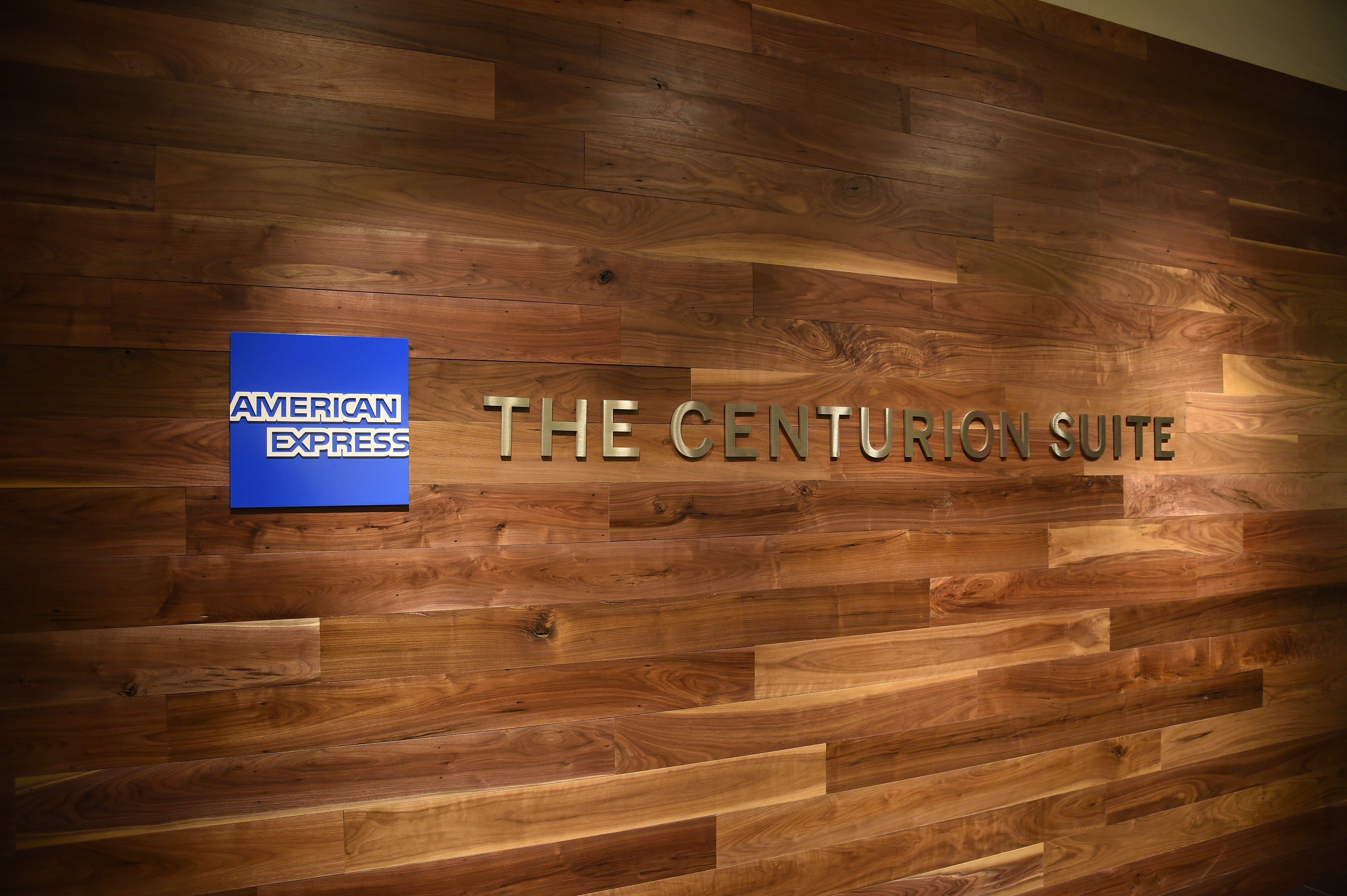 American Express Launches The Centurion Suite At Barclays