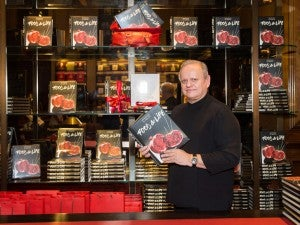 Joël Robuchon at Food & Life launch