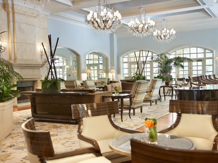 Image Credit: Lobby Lounge at Turnberry Isle Miami
