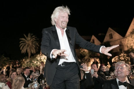 Sir Richard Branson at the British Polo Day Morocco Gala Dinner at Dar Soukkar. Credit Keoma Yac (10)