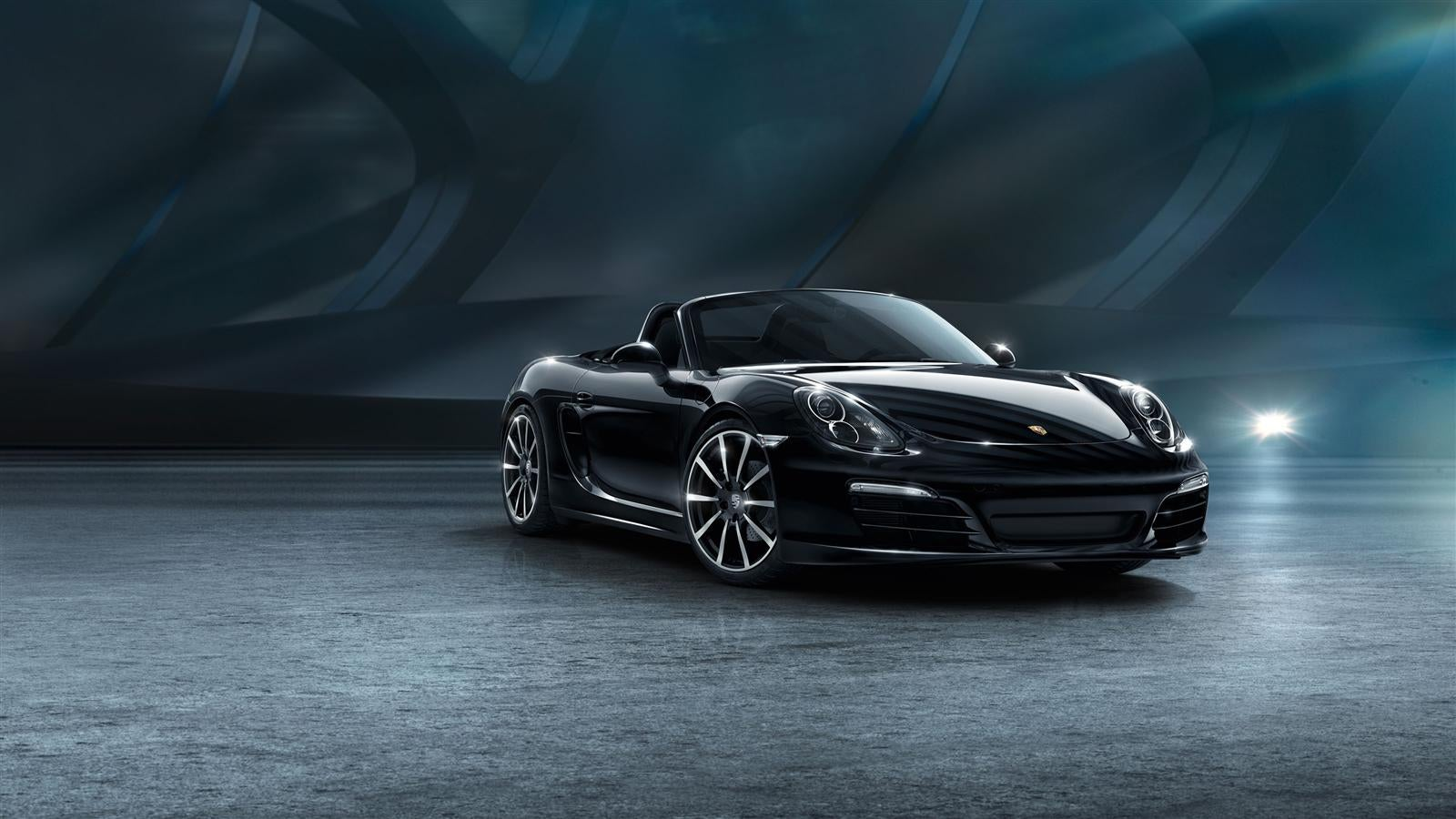 Porsche Unveils 911 Carrera And Boxster The Black