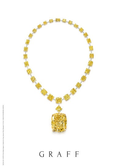 GN5919 Golden Empress set on necklace