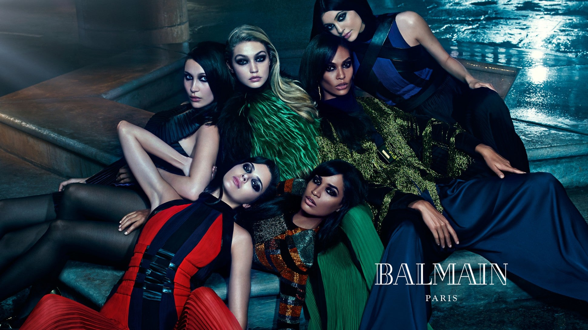 Balmain Fall 2015 Campaign Features The Most Stylish Sisters
