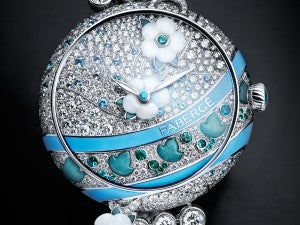 Fabergé Summer in Provence Timepiece - Moodshot Front fb