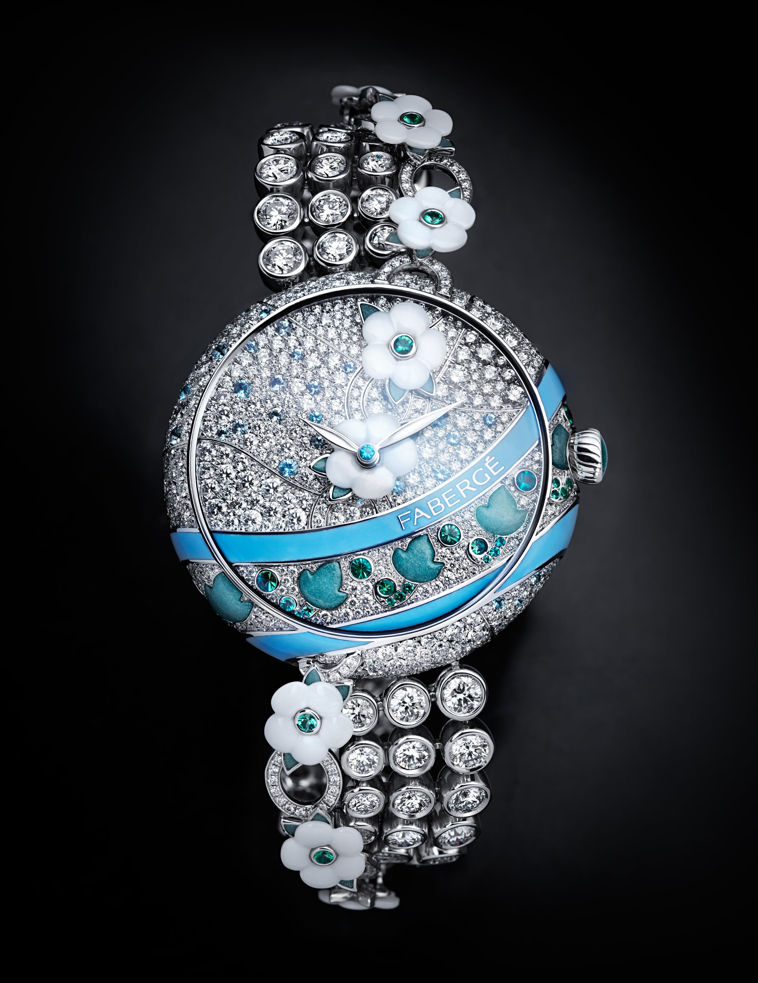 Fabergé Summer in Provence Timepiece - Moodshot Front