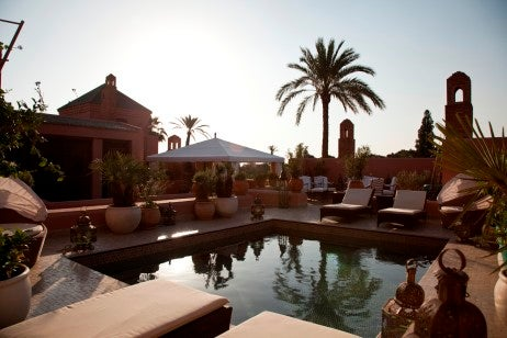 Riad d'Honneur pool lower