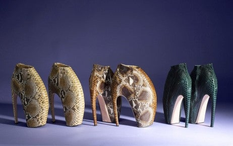 357f1e3c86a1 Alexander McQueen s Armadillo Boot Goes to Auction