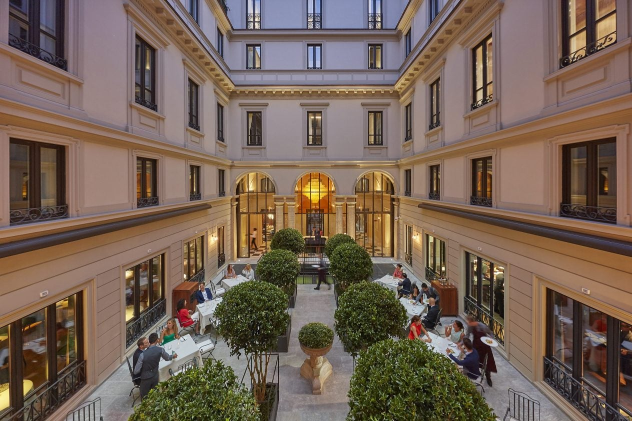 Mandarin oriental milan now open elite traveler for 50 best boutique hotels in the med by the times 2015