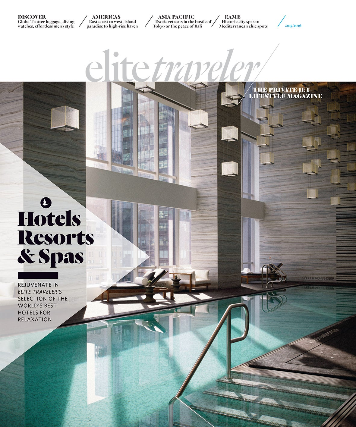 Hotels resorts spas 2015 elite traveler for 50 best boutique hotels in the med by the times 2015