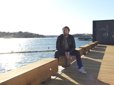 Rene Redzepi on location at Barangaroo, Sydney - Image by Jason Loucas (1)