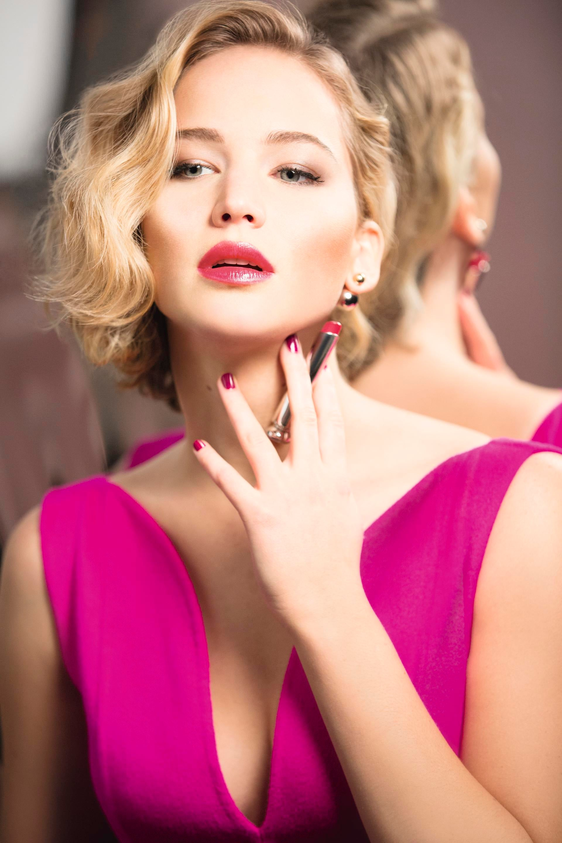Dior Addict - The New Lipstick: Starring Jennifer Lawrence ...