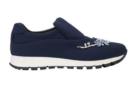 Prada_navy_blue_Sneakers