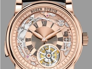 Anniversary tribute at Roger Dubuis Image 1