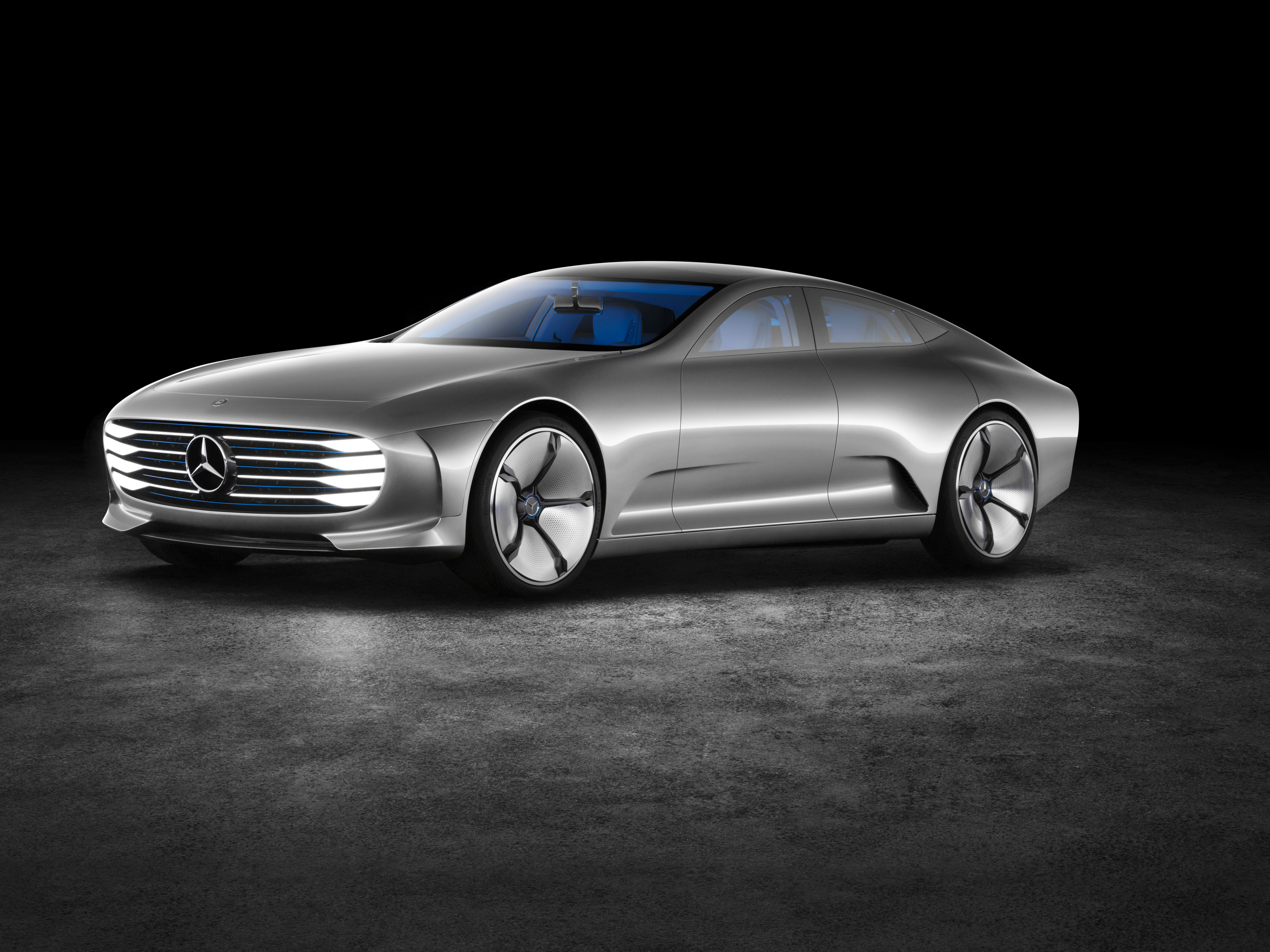 "Mercedes Benz Introduces ""Concept Intelligent Aerodynamic ..."