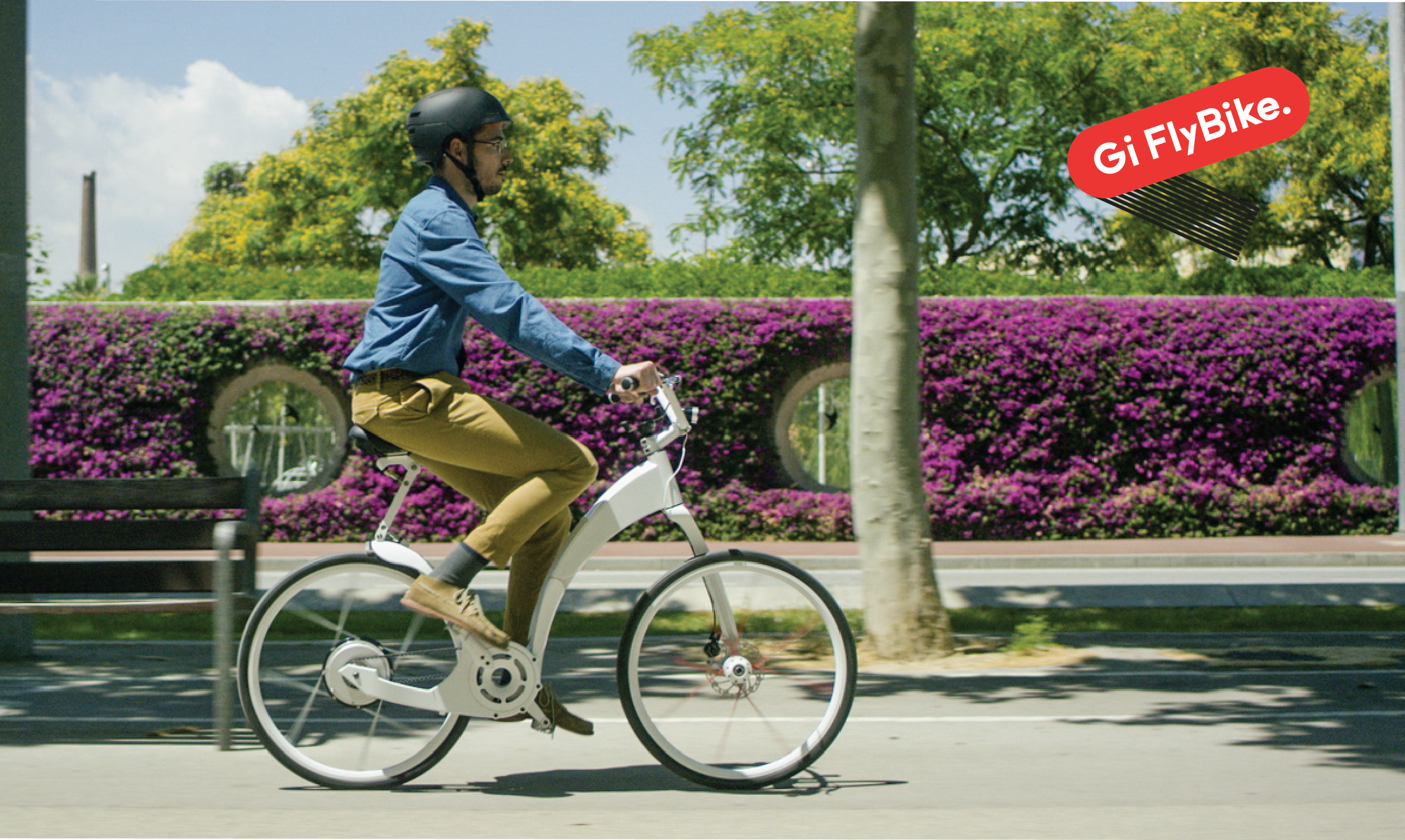 b3bcd574d31 Built on the pursuit of a big idea – to transform the urban commute – the Gi  FlyBike is a bike created for the future.
