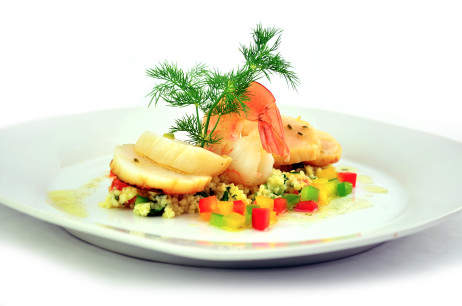 Shrimp and Dill - Menu