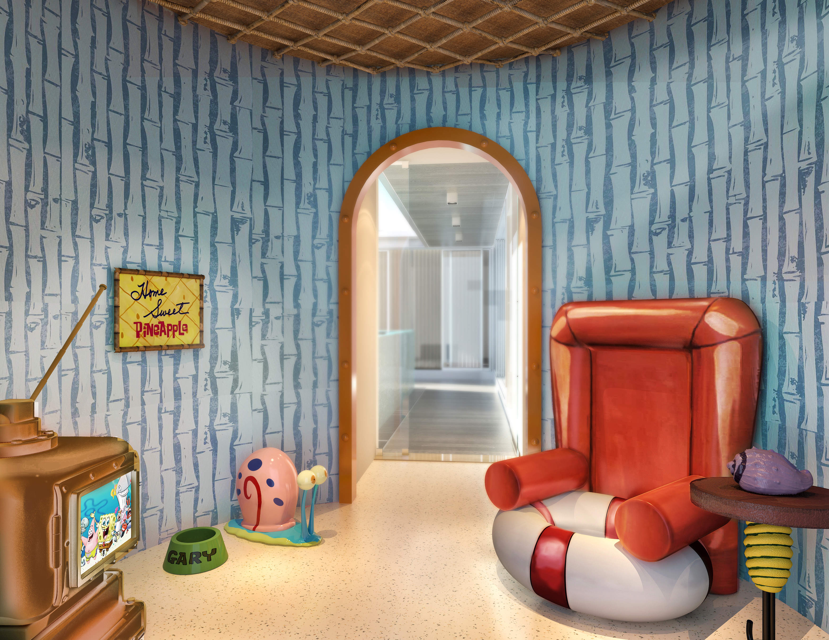 Nickelodeon Hotels Amp Resorts Debuts The World S First And