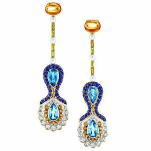 Abellán New York Venetian Symphony earrings