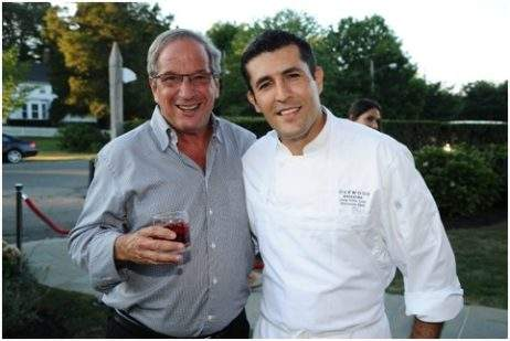 Neal Sroka, Chef Juan Pablo Loza (Photo Credit: Rob Rich/SocietyAllure.com)