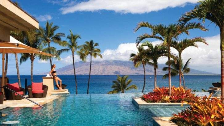 View from Missoni Cabanas at Four Seasons Resort Maui