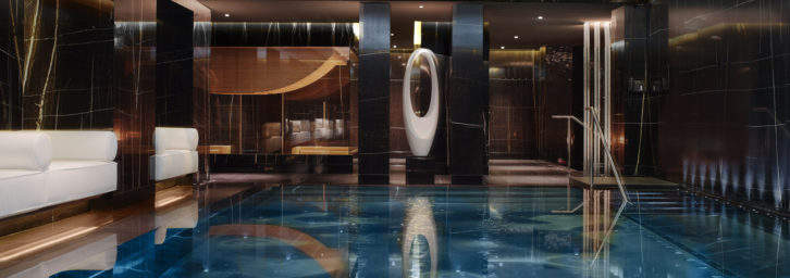 Pool at ESPA Life at Corinthia London