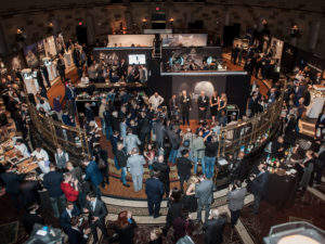 The scene at WatchTime New York 2015