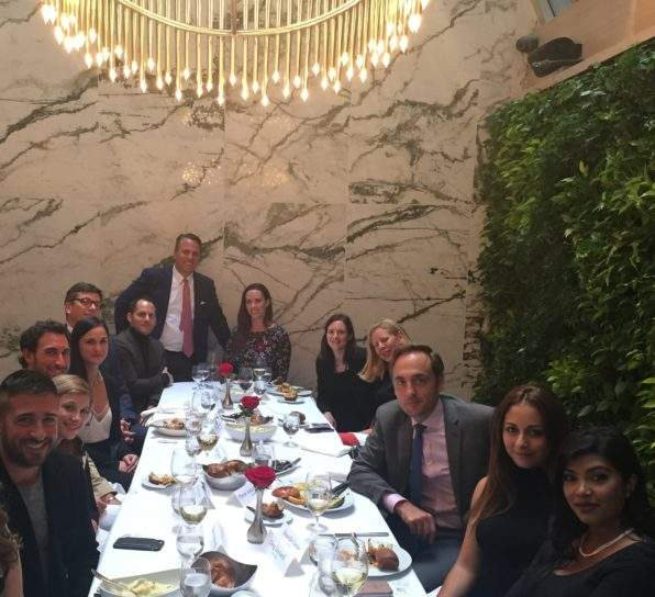 Elite Traveler VIP Luncheon at Hunt & Fish Club in NYC