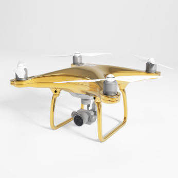 gold-drone