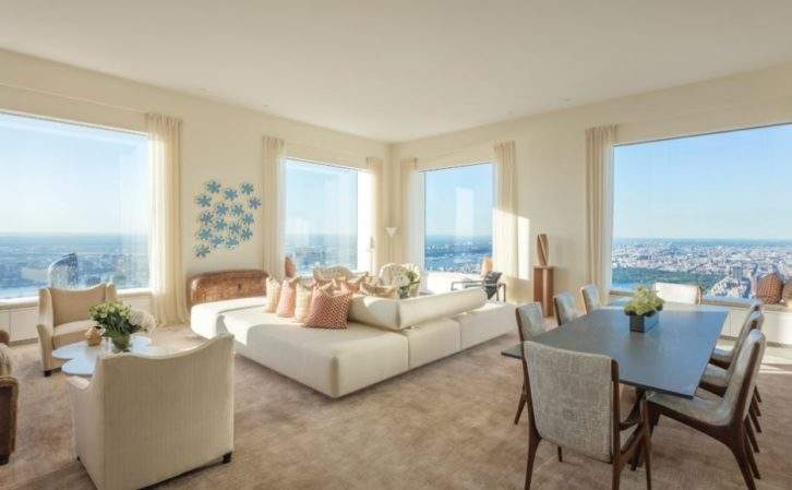 Inside 432 Park Avenue The 95 Million Apartment In Nyc S