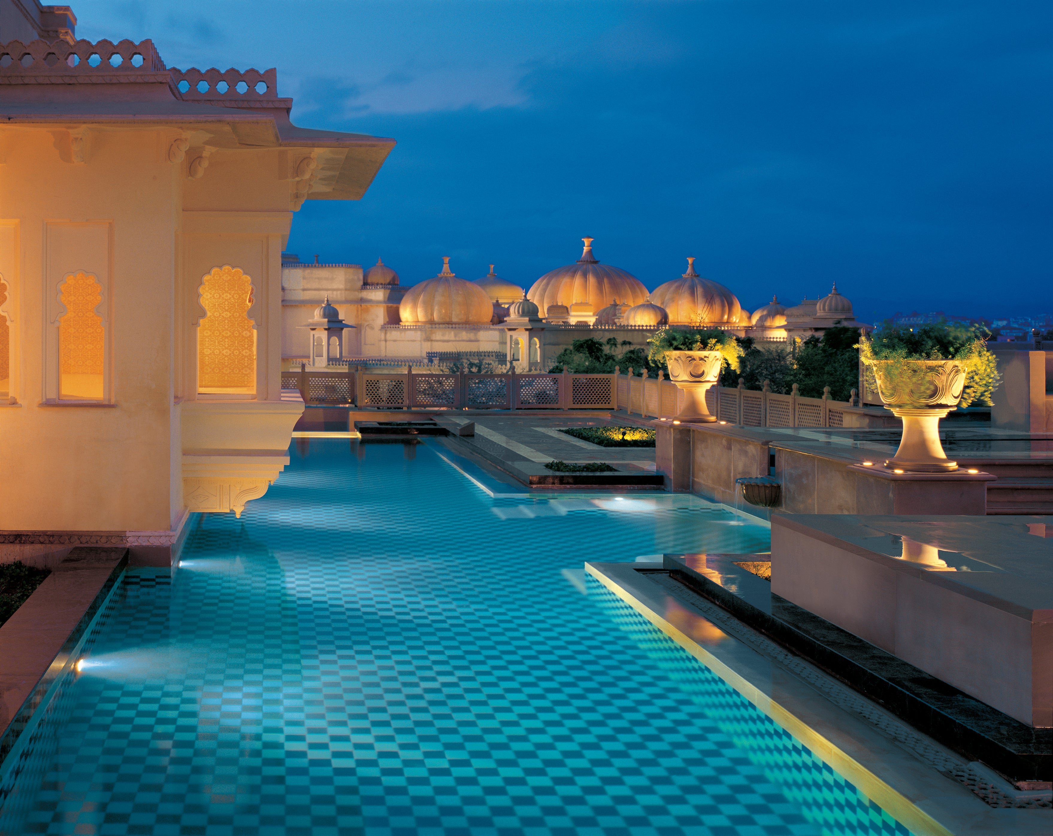 The oberoi udaivilas udaipur india elite traveler for Top 100 hotels