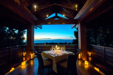 Private Treehouse Dining: Hotel Wailea