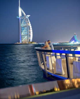 The most romantic restaurants in dubai elite traveler for Best romantic hotels in dubai