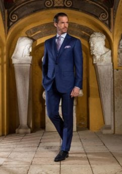 98928729e9 Every well-dressed man should boast at least one made-to-measure or bespoke  suit in his closet. While each is exceptional in fit, there is a difference.