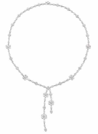 Harry winston launches new fine jewelry collection elite traveler harry winston forget me not lariat diamond necklace price on request harrywinston aloadofball Images