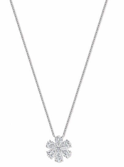 Harry winston launches new fine jewelry collection elite traveler harry winston forget me not diamond pendant price on request harrywinston aloadofball Images