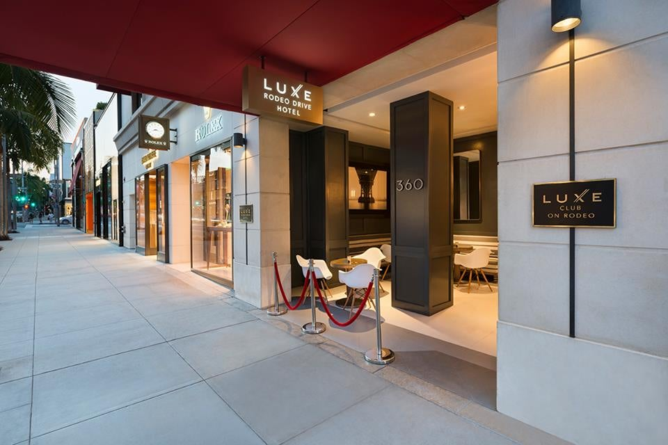 Spa Of The Week Luxe Rodeo Drive Hotel Elite Traveler