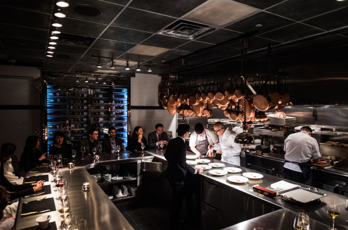 Chef's Table at Brooklyn Fare, New York, New York Chef Cesar Ramirez three-Michelin-starred Restaurants in US
