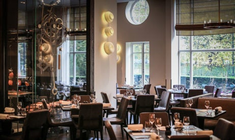 Three and two starred Michelin restaurants London, Dinner by Heston Blumenthal dining area